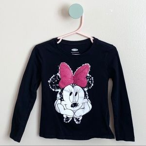 Disney for Old Navy Minnie Mouse Long Sleeve Tee